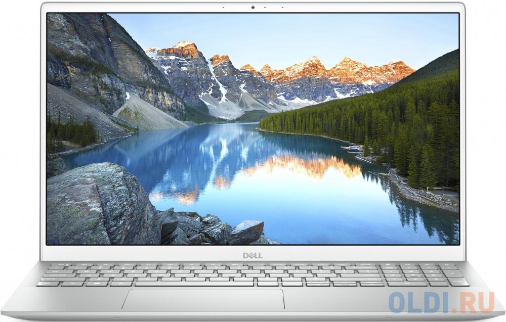 """Dell Inspiron 5505 15.6""""(1920x1080 (матовый) WVA)/AMD Ryzen 7 4700U(2Ghz)/8192Mb/512SSDGb/noDVD/Int:AMD Radeon/Cam/BT/WiFi/war 1y/Platnum silver/ Win 10 Home"""