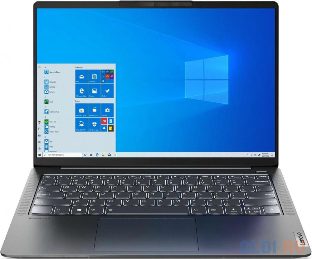 "Ноутбук Lenovo IdeaPad 5 Pro 14ITL6 Core i5 1135G7/16Gb/SSD512Gb/NVIDIA GeForce MX450 2Gb/14""/IPS/2.8K (2880x1800)/noOS/grey/WiFi/BT/Cam"