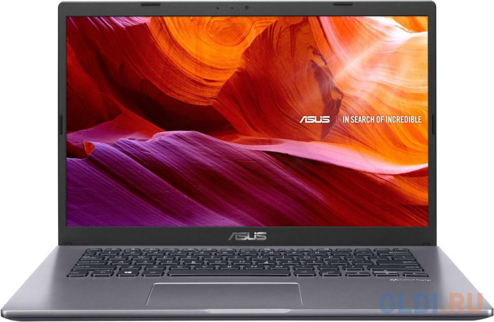 """ASUS X409FA-BV625 14""""(1366x768 (матовый))/Intel Core i3 10110U(2.1Ghz)/8192Mb/256PCISSDGb/noDVD/Int:Intel HD/Cam/BT/WiFi/war 1y/1.6kg/Star Grey/DOS"""