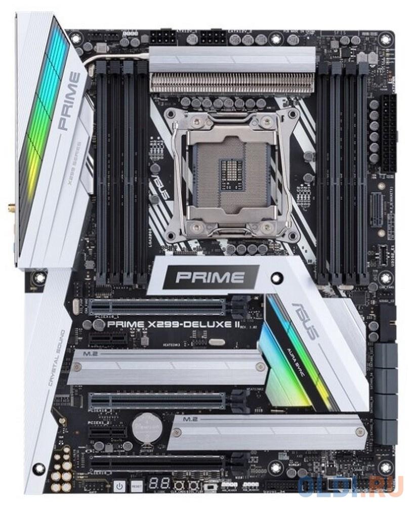 Материнская плата ASUS PRIME X299-DELUXE II Socket 2066 X299 8xDDR4 3xPCI-E 16x 2xPCI-E 1x 8 ATX Retail 90MB0ZB0-M0EAY0