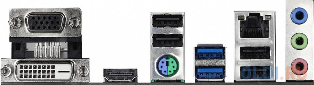 Материнская плата ASRock H410M-HDV Socket 1200 H410 2xDDR4 1xPCI-E 16x 1xPCI-E 1x 4 mATX Retail