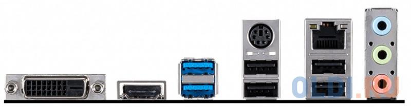 Материнская плата MSI H410M-A PRO Socket 1200 H410 2xDDR4 1xPCI-E 16x 1xPCI-E 1x 4 mATX Retail