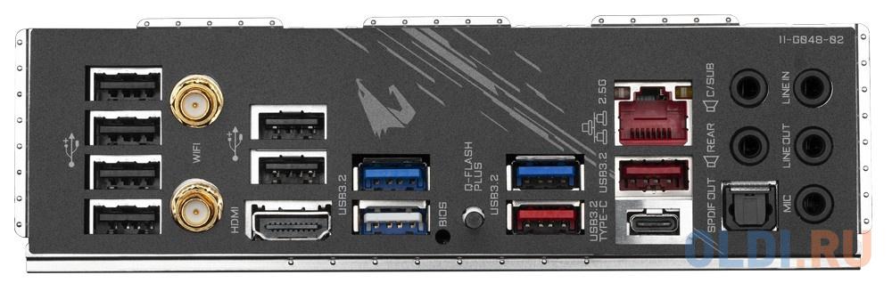 Материнская плата GigaByte B550 AORUS PRO AC Socket AM4 AMD B550 4xDDR4 3xPCI-E 16x 2xPCI-E 1x 6 ATX Retail.