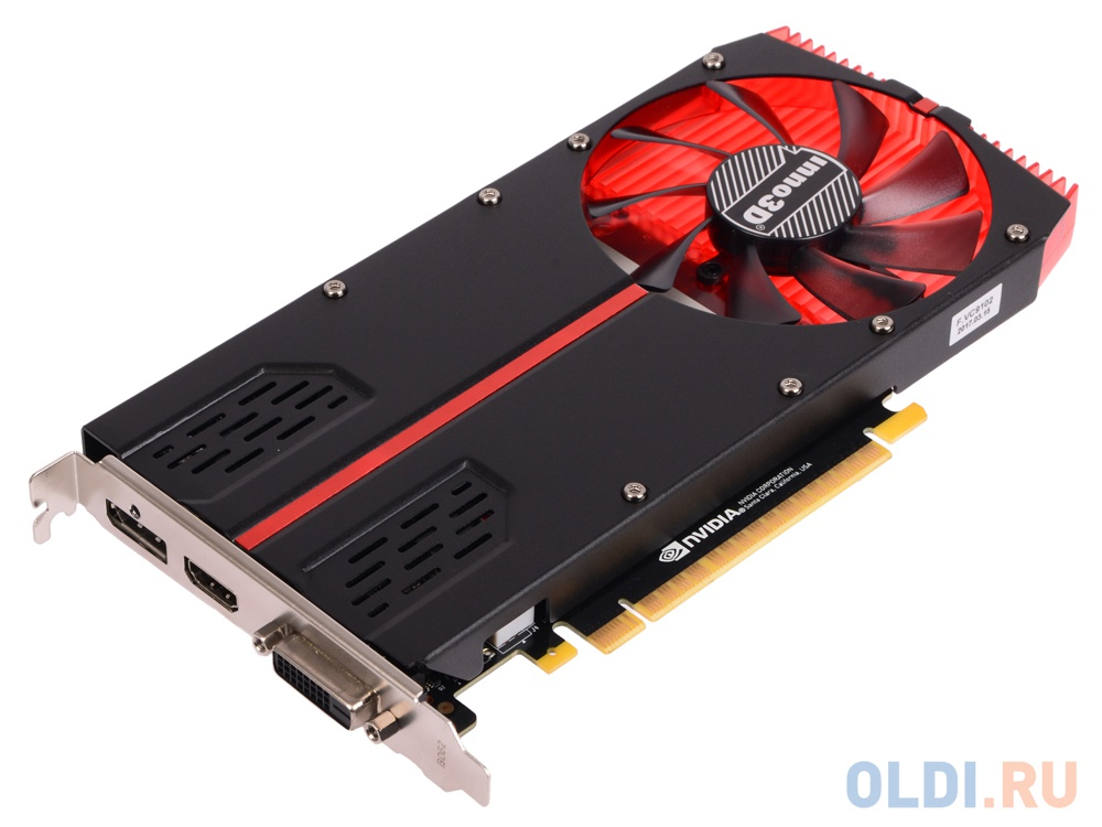 Фото «Inno3D GeForce GTX 1050 Ti Compact 1-Slot N105T2-1SDV-M5CM 4Gb  1290Mhz » 377dc092e9bd7