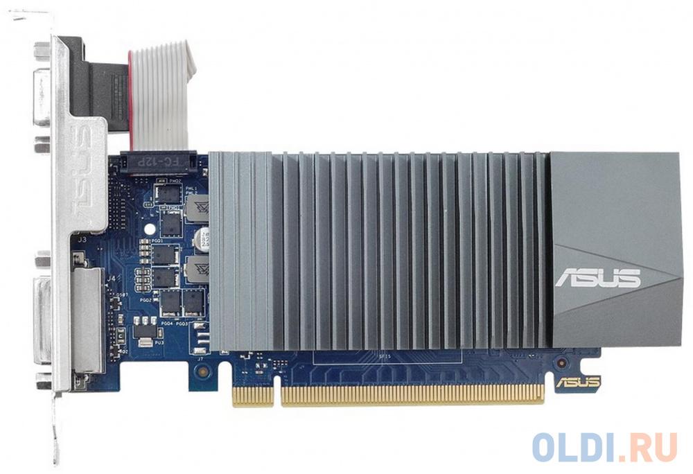 Видеокарта ASUS GeForce GT 710 GT710-SL-2GD5 2048Mb 954 MHz видеокарта asus geforce gt 710 silent lp 2gb gt710 sl 2gd5 brk retail