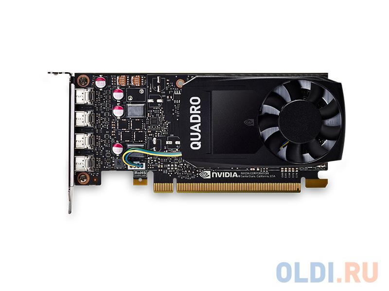 Профессиональная видеокарта PNY Quadro P600 VCQP1000BLK-5 4Gb 1265 MHz
