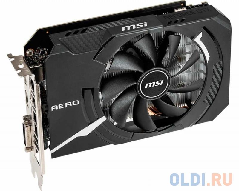 Видеокарта MSI GeForce GTX1660 Ti AERO ITX 6G OC 6Gb