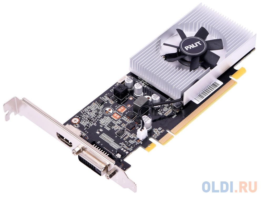 Видеокарта Palit GeForce GT1030 NE5103000646-1080F 2Gb 1227 MHz