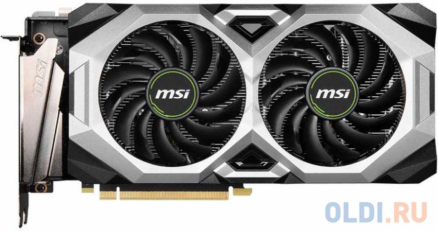 Фото - Видеокарта MSI GeForce RTX 2080 SUPER (RTX 2080 SUPER VENTUS XS OC) 8Gb 1605 MHz видеокарта asus phoenix geforce gtx 1650 super oc edition ph gtx1650s o4g 4gb 1740 mhz