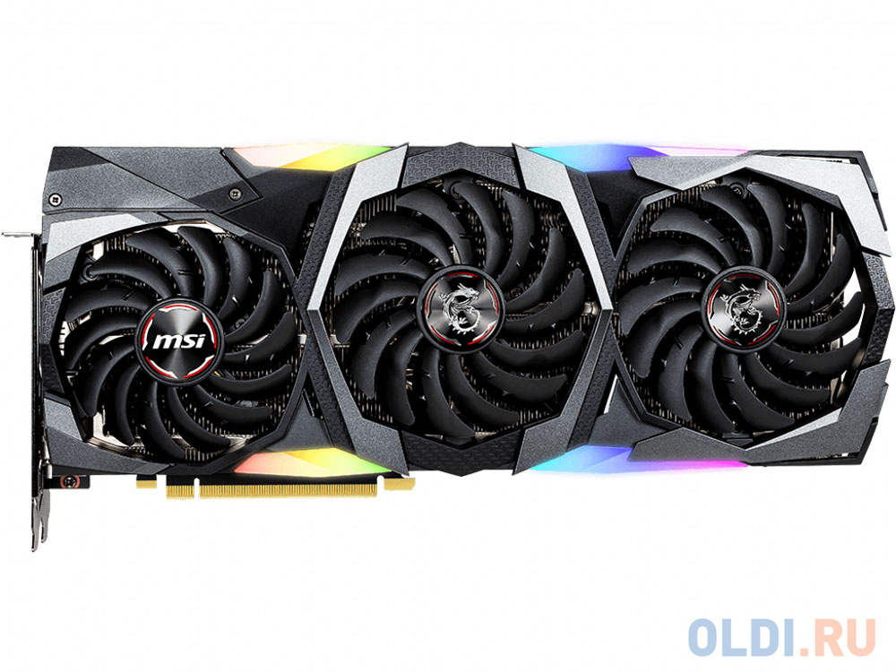 Видеокарта MSI GeForce RTX 2070 SUPER GAMING TRIO 8Gb 1605 MHz