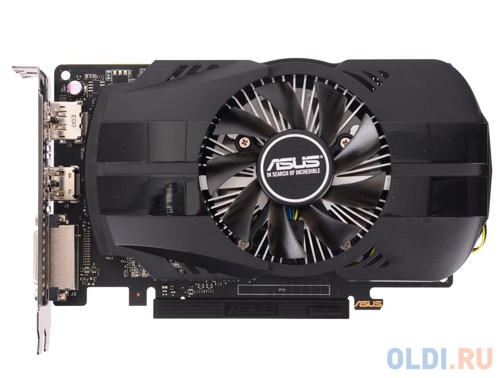 Видеокарта 4Gb PCI-E ASUS PH-GTX1050TI-4G