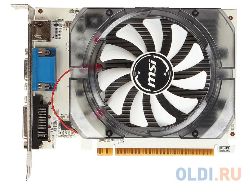 Видеокарта 2Gb PCI-E MSI N730-2GD3V2 GFN730, GDDR3, 128 bit, HDCP, VGA, DVI, HDMI, Retail