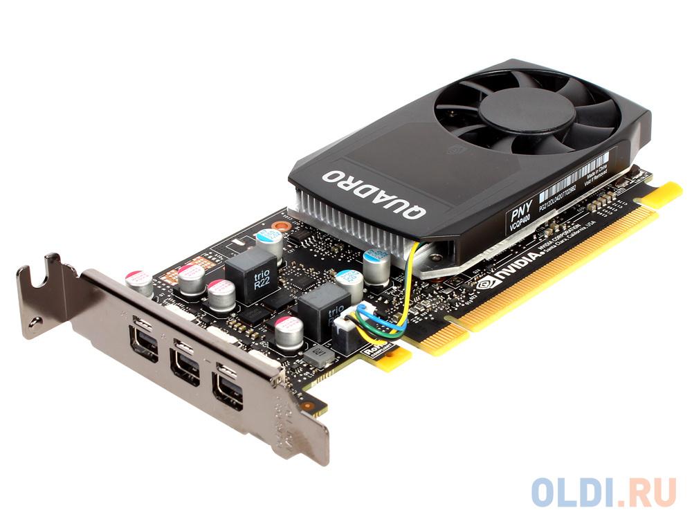 Проф видеокарта 2Gb PCI-E PNY nVidia Quadro P400