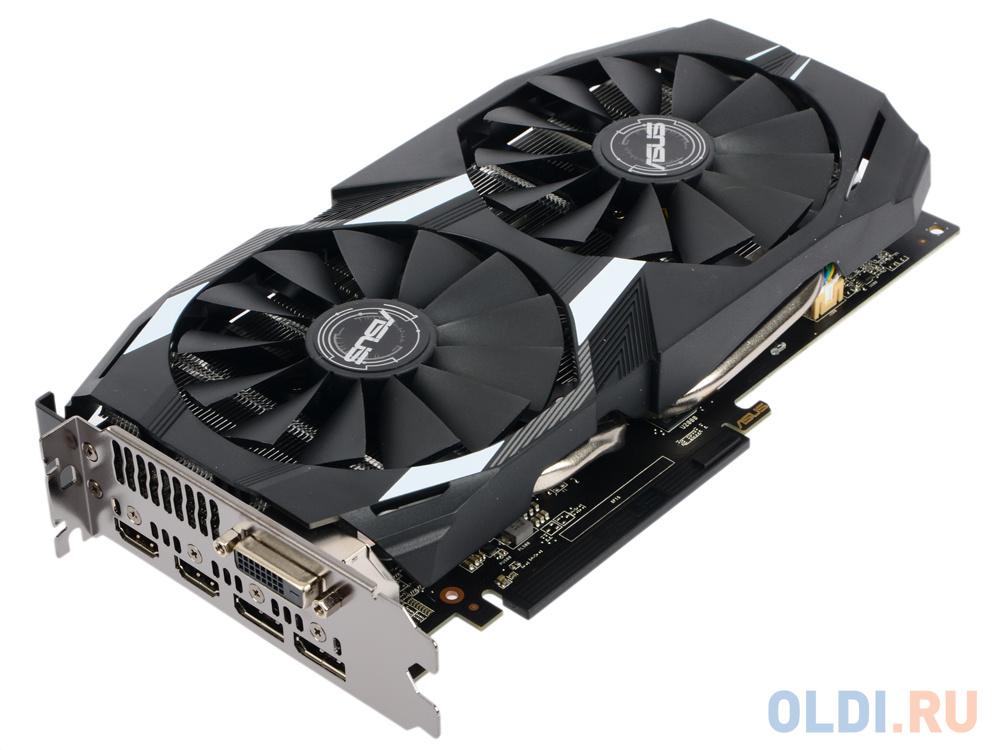 Видеокарта 8Gb PCI-E ASUS DUAL-RX580-O8G