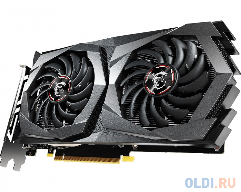 Фото - Видеокарта MSI GeForce GTX 1650 (GTX 1650 GAMING 4G) 4Gb 5g 2 4g