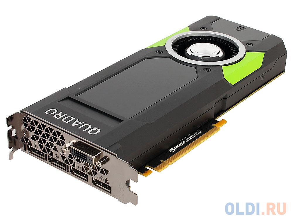 Проф видеокарта PNY nVidia Quadro P5000 16Gb 1620Mhz