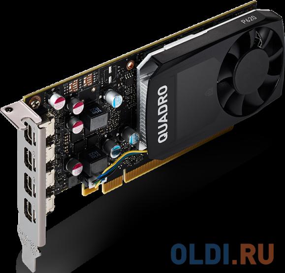 Видеокарта PNY Quadro P620 VCQP620DVIV2-PB PCI-E 2048Mb GDDR5 128 Bit Retail