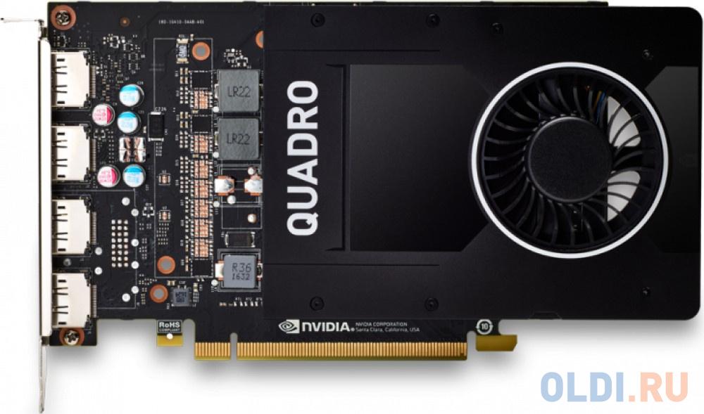 Видеокарта PNY Quadro P2200 VCQP2200BLK-1 PCI-E 5120Mb GDDR5X 160 Bit OEM