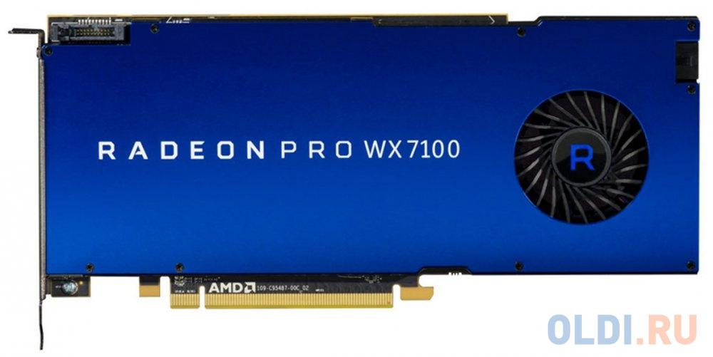 Видеокарта DELL Radeon Pro WX 7100 Radeon Pro WX 7100 PCI-E 8192Mb GDDR5 256 Bit OEM 490-BDRL фото