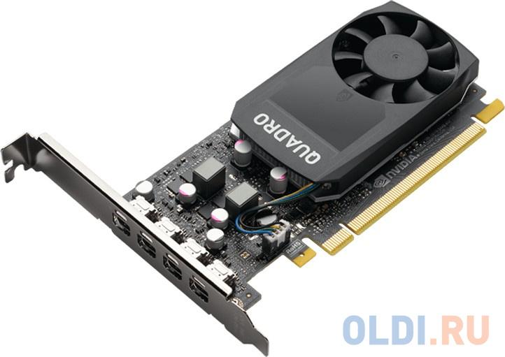 Видеокарта PNY Quadro P1000 VCQP1000V2-BLS PCI-E 4096Mb GDDR5 128 Bit OEM фото