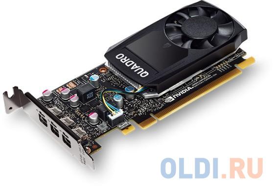 Видеокарта Dell PCI-E NVIDIA Quadro P400 nVidia Quadro P400 2048Mb DDR3/mDPx4/HDCP oem