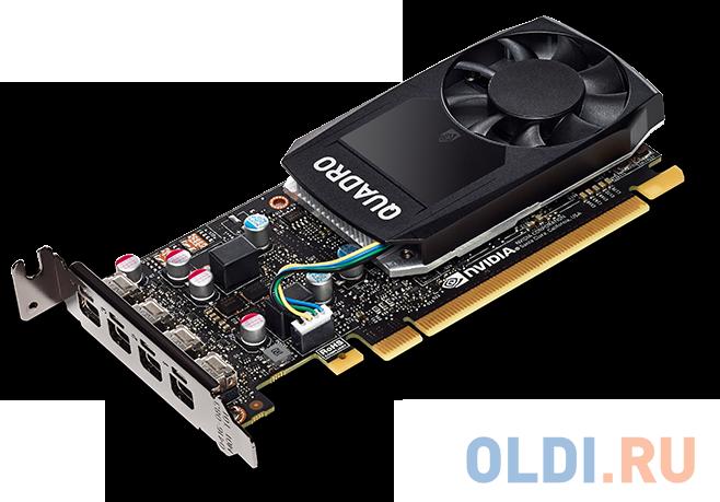 Фото - Видеокарта HP Quadro P620 3ME25AA PCI-E 2048Mb GDDR5 128 Bit Retail материнская плата asrock z370 pro4 socket 1151 v2 z370 4xddr4 2xpci e 16x 3xpci e 1x 6 atx retail