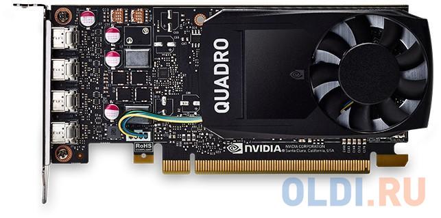 Видеокарта DELL Quadro P1000 nVidia Quadro P1000 PCI-E 4096Mb GDDR5 128 Bit OEM 490-BDXN