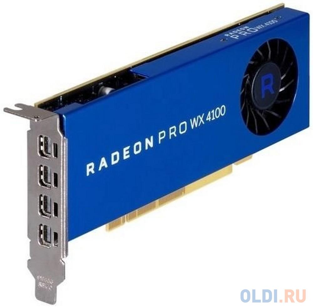 Видеокарта Dell PCI-E Radeon Pro WX 4100 AMD WX 4100 4096Mb 256bit DDR5/DPx2 oem