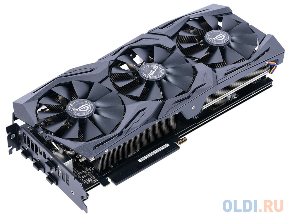 Видеокарта ASUS GeForce RTX 2060 ROG-STRIX-RTX2060-O6G-GAMING 6Gb 1365 MHz
