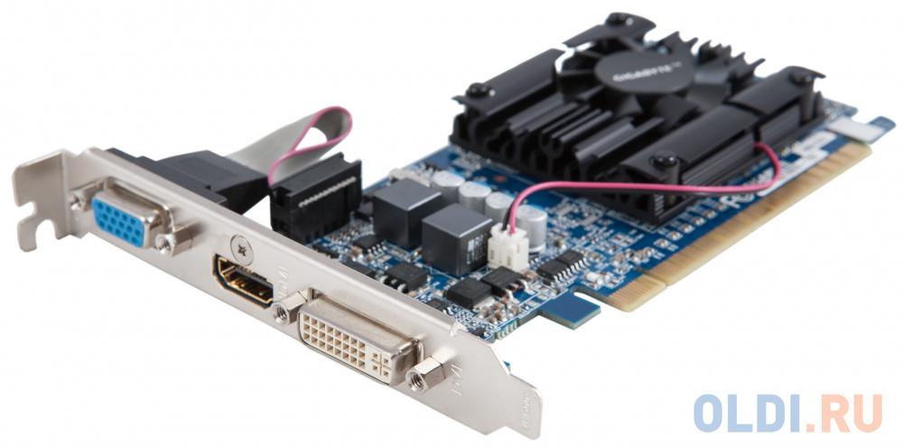 Видеокарта 1Gb PCI-E GIGABYTE GV-N210D3-1GI rev 6.0