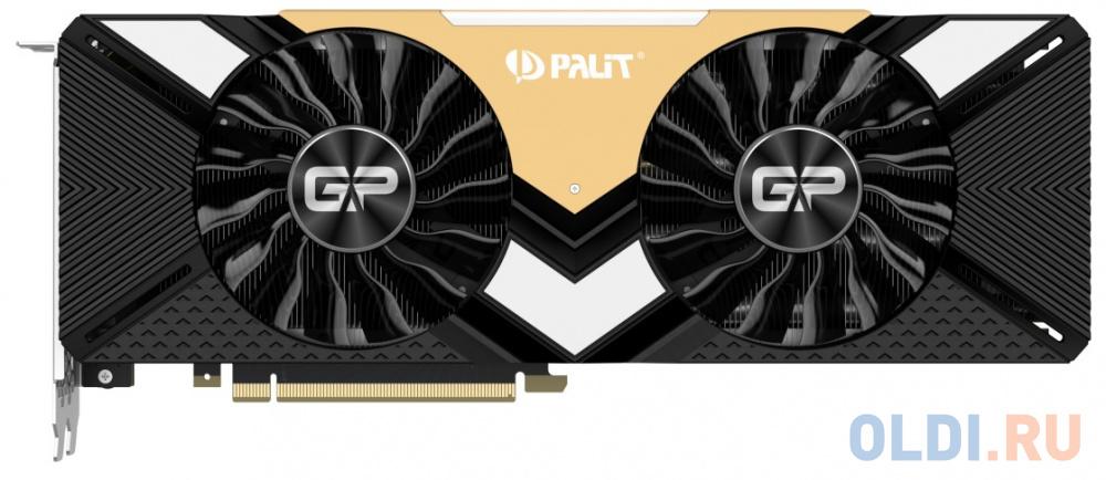 Видеокарта Palit GeForce RTX 2080 Ti Gaming Pro OC 11G NE6208TS20LC-150A 11Gb 1350 MHz фото