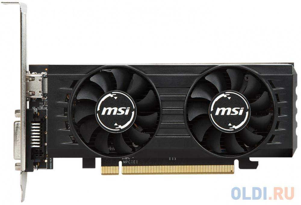 Видеокарта 2Gb PCI-E MSI Radeon RX 550 2GT LP OC