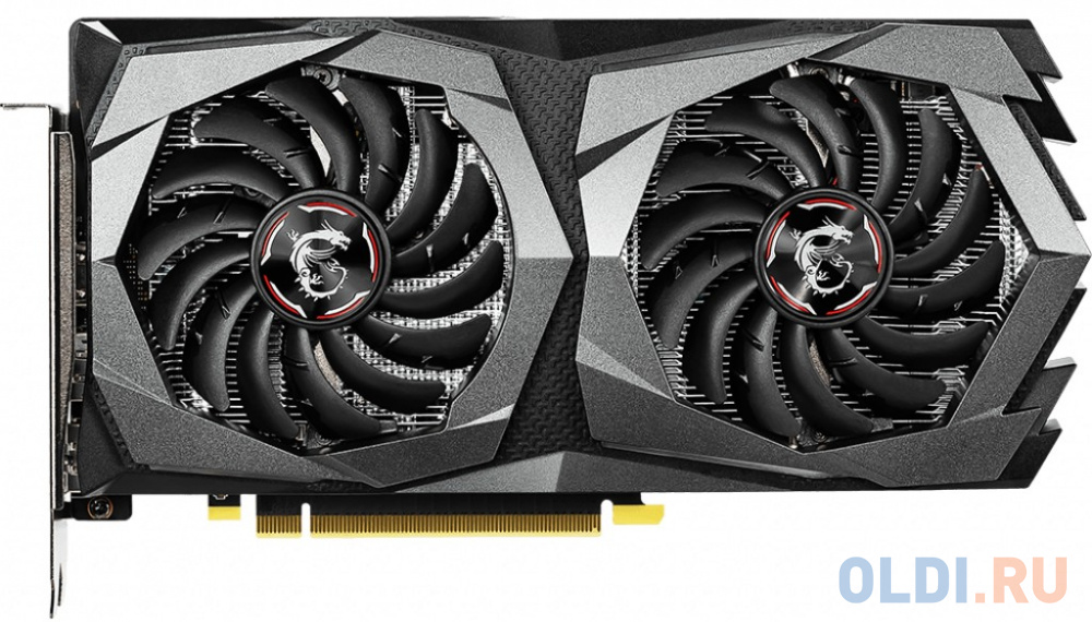 Фото - Видеокарта MSI GeForce GTX 1650 D6 GAMING PCI-E 4096Mb GDDR6 128 Bit Retail видеокарта asus geforce gtx 1650 super tuf gaming pci e 4096mb gddr6 128 bit retail tuf gtx1650s 4g gaming