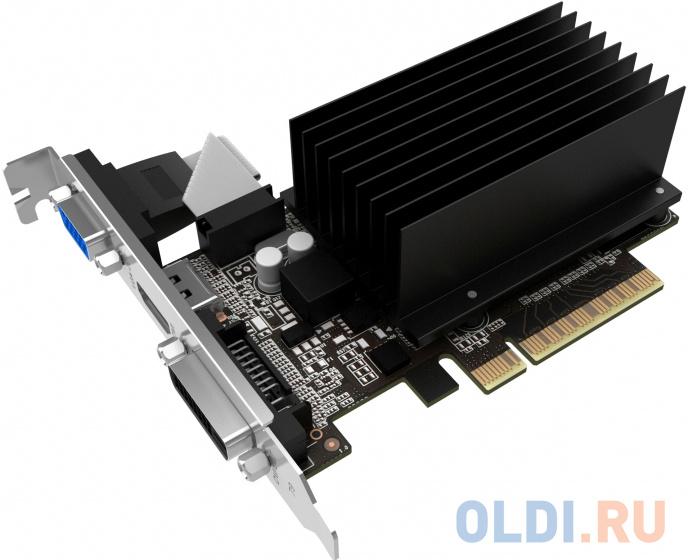 Видеокарта Palit PCI-E PA-GT710-2GD3H nVidia GeForce GT 710 2048Mb 64bit DDR3 954/1600 DVIx1/HDMIx1/CRTx1/HDCP Ret фото