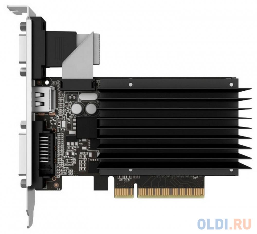 Видеокарта Palit GeForce GT 710 PA-GT710-2GD3H PCI-E 2048Mb 64 Bit Retail NEAT7100HD46-2080H