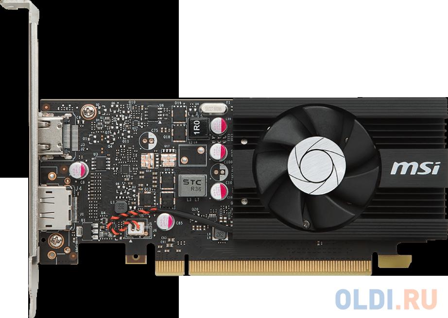 Видеокарта MSI GeForce GT 1030 GT 1030 2G LP OC PCI-E 2048Mb 64 Bit Retail