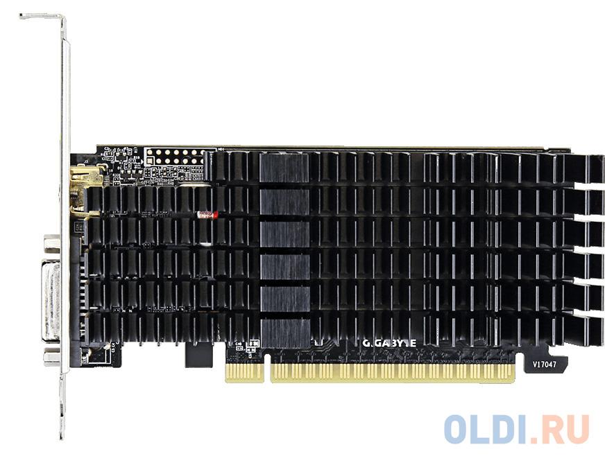 Видеокарта GigaByte GeForce GT 710 GV-N710D5SL-2GL PCI-E 2048Mb GDDR5 64 Bit Retail.