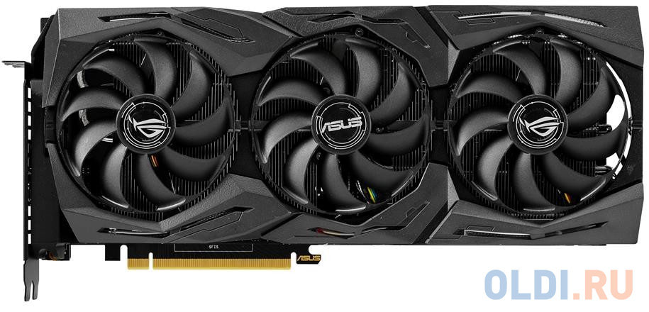 Фото - Видеокарта ASUS nVidia GeForce RTX 2080 Ti ROG-STRIX-OC-GAMING PCI-E 11264Mb GDDR6 352 Bit Retail ROG-STRIX-RTX2080TI-O11G-GAMING видеокарта asus geforce gtx 1650 super tuf gaming pci e 4096mb gddr6 128 bit retail tuf gtx1650s 4g gaming
