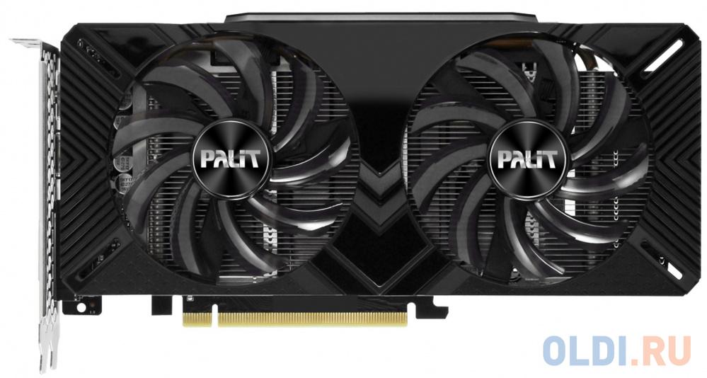 Видеокарта Palit nVidia GeForce RTX 2060 Dual PCI-E 6144Mb GDDR6 192 Bit Retail NE62060018J9-1160A фото