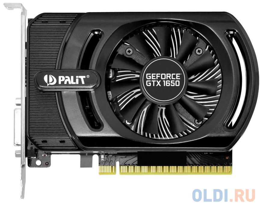 Фото - Видеокарта Palit GeForce GTX 1650 StormX OC PCI-E 4096Mb GDDR5 128 Bit Retail NE51650S06G1-1170F ноутбук dell g3 3579 g315 7251 white intel core i7 8750h 2 2 ghz 8192mb 1000gb 128gb ssd nvidia geforce gtx 1050ti 4096mb wi fi bluetooth cam 15 6 1920x1080 linux
