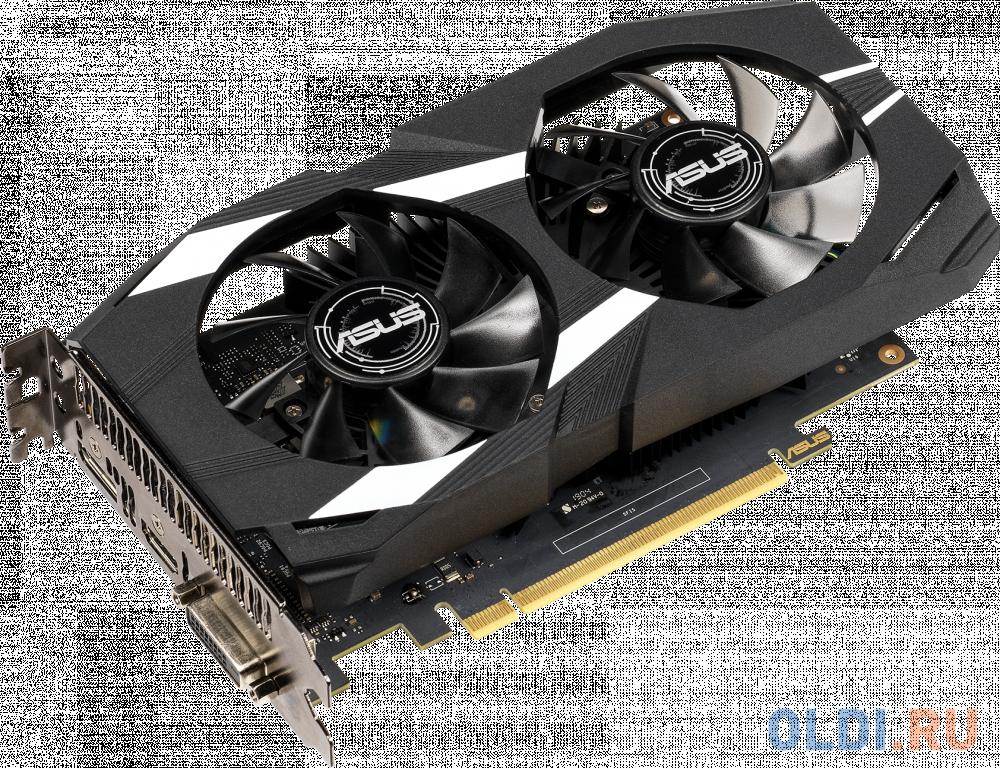 Видеокарта ASUS GeForce GTX 1650 DUAL-GTX1650-4G PCI-E 4096Mb GDDR5 128 Bit Retail 90YV0CV3-M0NA00 фото