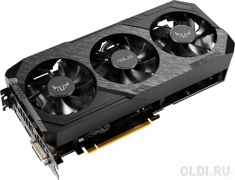 Фото - Видеокарта ASUS GeForce GTX 1660 TUF Gaming X3 Advanced edition PCI-E 6144Mb GDDR5 192 Bit Retail TUF3-GTX1660-A6G-GAMING видеокарта asus geforce gtx 1650 super tuf gaming pci e 4096mb gddr6 128 bit retail tuf gtx1650s 4g gaming