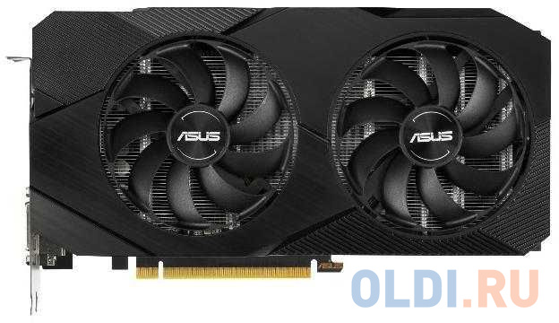 Фото - Видеокарта ASUS GeForce GTX 1660 SUPER Dual OC Edition PCI-E 6144Mb GDDR6 192 Bit Retail DUAL-GTX1660S-O6G-EVO видеокарта asus geforce gtx 1650 super tuf gaming pci e 4096mb gddr6 128 bit retail tuf gtx1650s 4g gaming