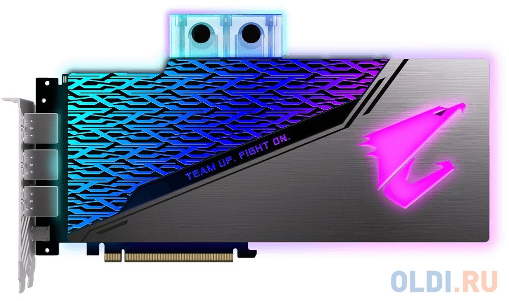 Видеокарта Gigabyte PCI-E GV-N208SAORUS WB-8GC nVidia GeForce RTX 2080SUPER 8192Mb 256bit GDDR6 1860/15500/HDMIx3/DPx3/Type-Cx1/HDCP Ret фото