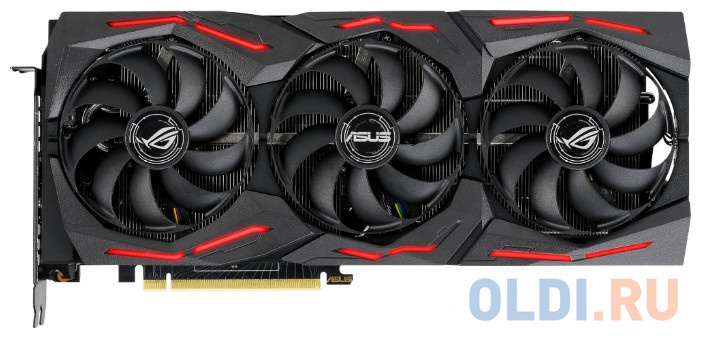 Фото - Видеокарта ASUS nVidia GeForce RTX 2070 SUPER Strix Gaming OC PCI-E 8192Mb GDDR6 256 Bit Retail ROG-STRIX-RTX2070S-O8G-GAMING видеокарта asus geforce gtx 1650 super tuf gaming pci e 4096mb gddr6 128 bit retail tuf gtx1650s 4g gaming