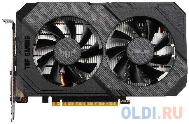 Фото - Видеокарта ASUS GeForce GTX 1650 SUPER TUF Gaming PCI-E 4096Mb GDDR6 128 Bit Retail TUF-GTX1650S-4G-GAMING видеокарта asus geforce gtx 1650 super tuf gaming pci e 4096mb gddr6 128 bit retail tuf gtx1650s 4g gaming