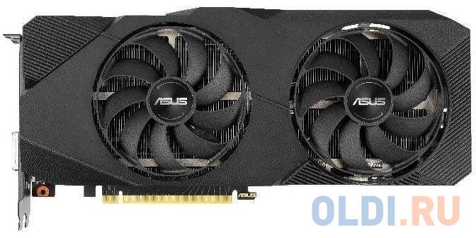 Видеокарта ASUS nVidia GeForce RTX 2060 SUPER Dual EVO V2 OC Edition PCI-E 8192Mb GDDR6 256 Bit Retail DUAL-RTX2060S-O8G-EVO-V2