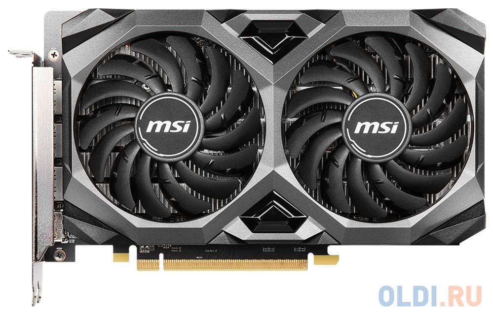 Видеокарта MSI PCI-E 4.0 RX 5500 XT MECH 4G OC AMD Radeon RX 5500XT 8192Mb 128bit GDDR6 1647/14000/HDMIx1/DPx3/HDCP Ret