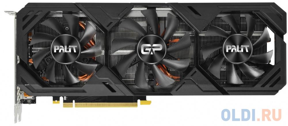 Фото - Видеокарта Palit PCI-E PA-RTX2080SUPER GP OC 8G nVidia GeForce RTX 2080SUPER 8192Mb 256bit GDDR6 1650/15500/HDMIx1/DPx3/HDCP Ret видеокарта gigabyte pci e gv n208sgamingoc wb 8gd nvidia geforce rtx 2080super 8192mb 256bit gddr6 1845 15500 hdmix1 dpx3 hdcp ret