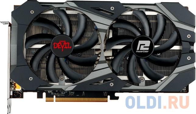 Видеокарта PowerColor Radeon RX 5600 XT OC PCI-E 6144Mb GDDR6 192 Bit Retail AXRX 5600XT 6GBD6-3DHE/OC видеокарта msi radeon rx 5700xt evoke oc pci e 8192mb gddr6 256 bit retail rx 5700 xt evoke oc